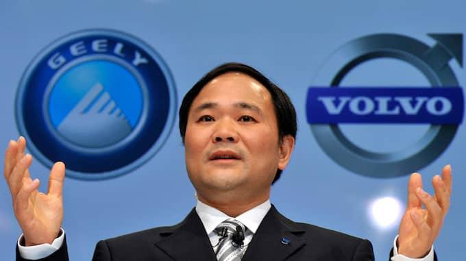 Geely köpte Volvo Cars från Ford 2010 för 1,8 miljarder dollar och nu kan företaget börsnoteras – till rätt pris. Foto: WU WEI / AP XINHUA