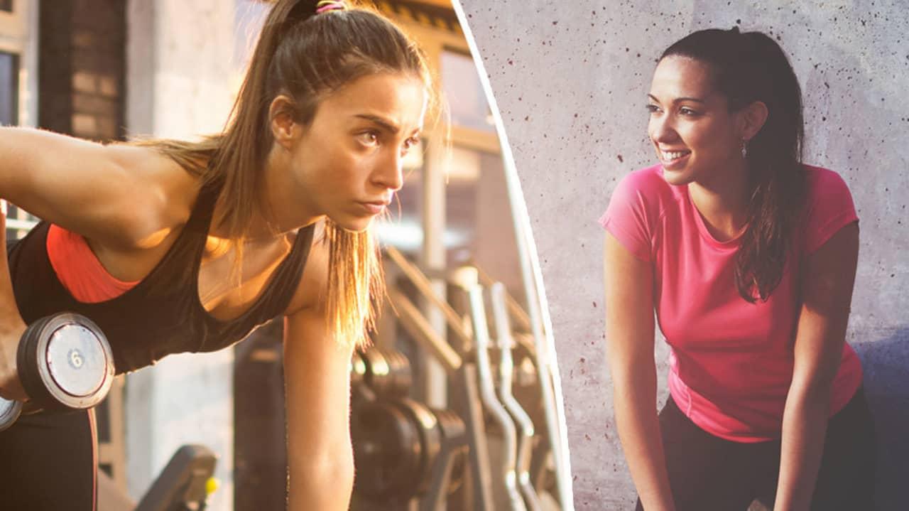 vikten står still trots träning