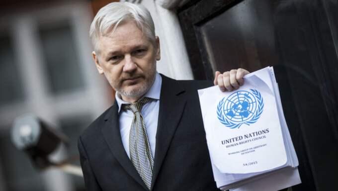 Assanges advokater begär att häktningen hävs. Foto: Rupert Hartley/Rex/Shutterstock