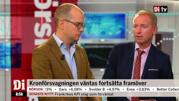 Olavi: Kommunernas ekonomi sänker kronan