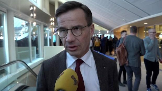 "Kristersson: ""Justitieministern sköter inte sig"""