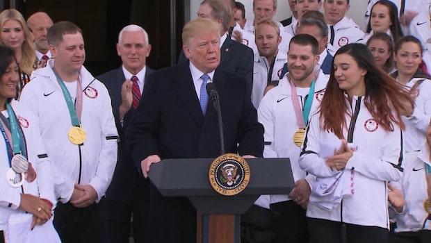 President Trump kritiserad för uttalande om Paralympics
