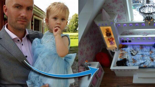 2-åriga Ambers rum är som hämtat ur Frost