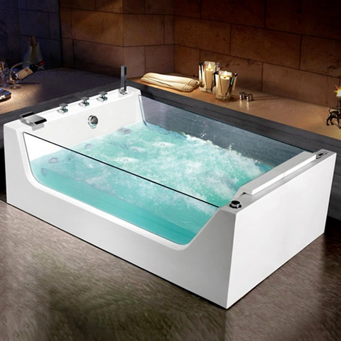 Bubbelbadkar Bathlife Flit – Med ryggmassage och fotmassage c4c7de08a6852