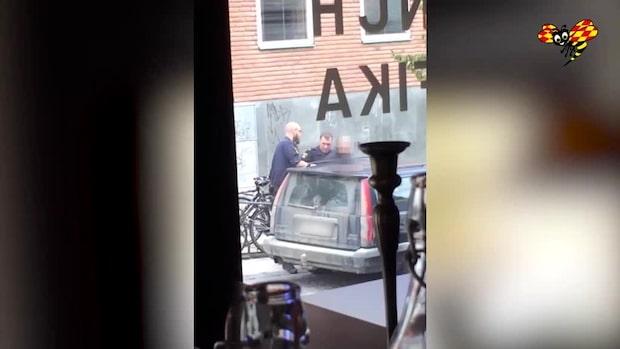 Man anhållen för stämpling till terroristbrott