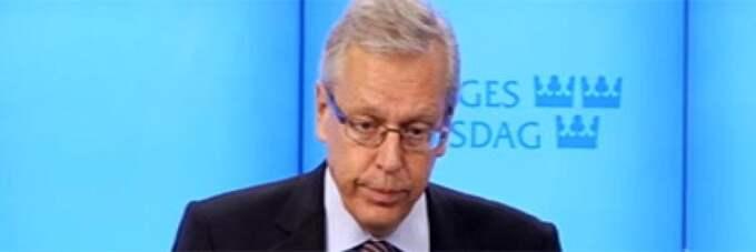 """Mats Odell vill gärna bli KD:s nye partiledare. Partiets kris - """"den värsta sedan det bildades"""" - fick honom att utmana nuvarande partiledaren Göran Hägglund."""