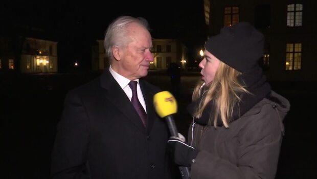 Loa Falkman uppträdde på prinsessan Birgittas fest