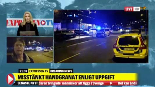 """Kraftig explosion utanför polishus: """"Boende sa att det var det värsta hon hört"""""""