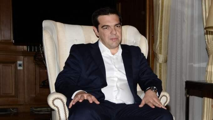 Alexis Tsipras, Greklands premiärminister. Foto: Wassilios Aswestopoulos