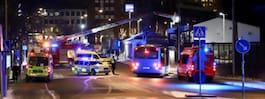 Brand i byggnad i Stockholm – en person tagen till förhör