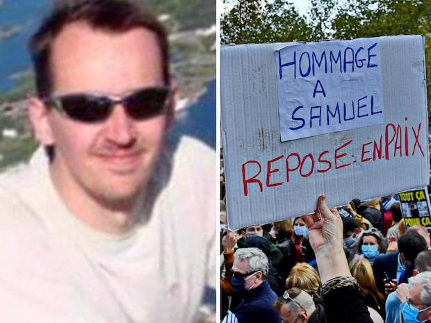 "Manifestation efter mordet på Samuel Paty: ""Chockade"""
