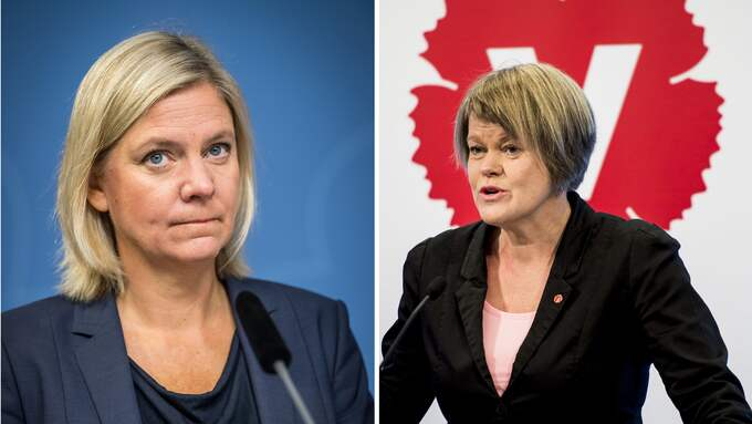 Magdalena Andersson (S) och Ulla Andersson (V) försvårar för dygder som sparande och arbete.