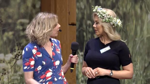 """Isabella Löwengrip inför """"Sommar i P1"""""""