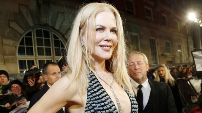 Nicole Kidman avslöjar nu sin hemliga förlovning – med Lenny Kravitz. Foto: Simonds/Bafta/Rex/Shutterstock / SIMONDS/BAFTA/REX/SHUTTERSTOCK REX FEATURES