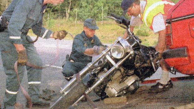 Bandidos president sköts till döds på motorvägen