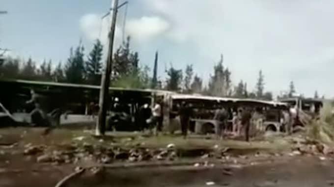 Nu kommer uppgifter om att självmordsbombarna var utklädda till hjälparbetare, och att attacken var riktad främst mot barnen, enligt FN. Foto: CNN