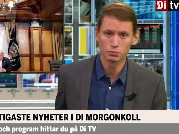 Di Morgonkoll: Trumps hälsa glädjer marknaden