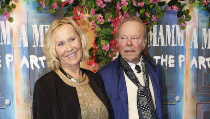 Agnetha Fältskog på röda mattan. Foto: Johan Jeppsson