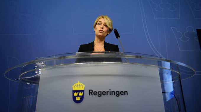 Annika Strandhäll (S). Foto: Maja Suslin.