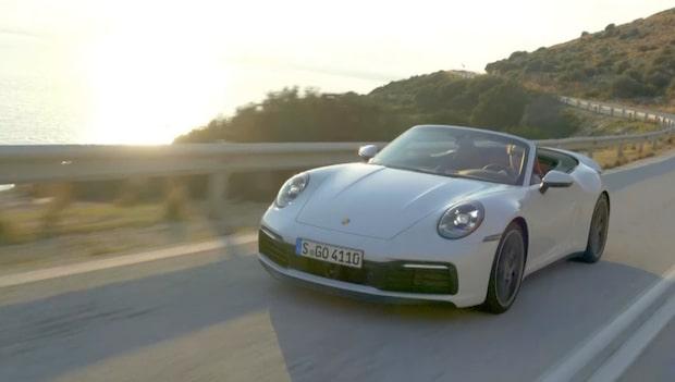 Allt om Bilar provkör nya Porsche 911 Cab