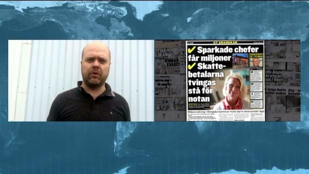 """Daniel Olsson: """"Alingsåsarna får betala höga chefers löner"""""""