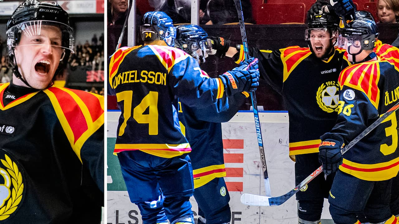 Oskarshamn: Brynäs vann mot Oskarshamn i SHL 19/20