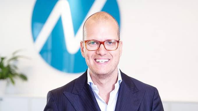 Joakim Bornold på Nordnet. Foto: Nordnet