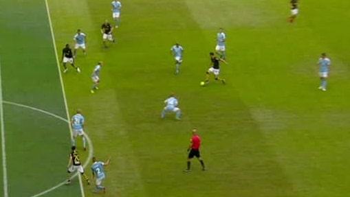 Bortdömt mål – efter ifrågasatt offside