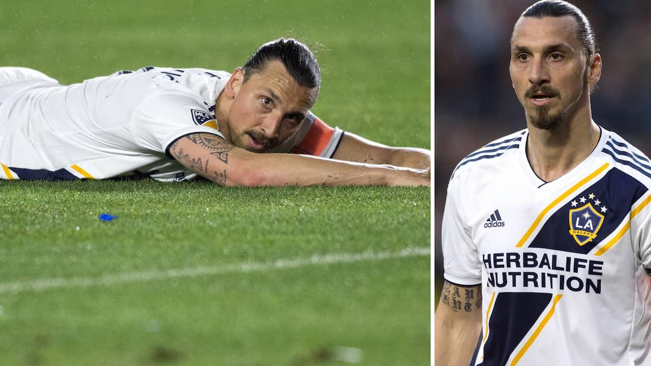 Zlatan tillbaka i träning efter mystiska skadan