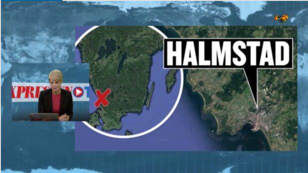 En död person har hittats i Halmstad