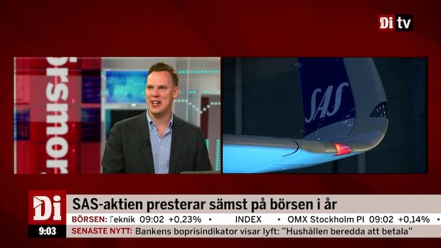 """Wendel om SAS: """"Kostade enormt mycket"""""""