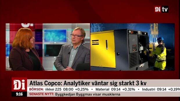 Atlas Copco: Analytiker väntar sig starkt tredje kvartal