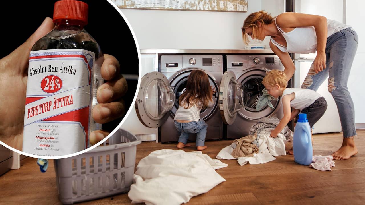 Sköljmedel är giftigt – använd ättika i stället  980c156836b00