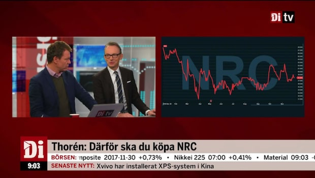 Strand kapitalförvaltnings Johan Thorén tipsar om köp och sälj