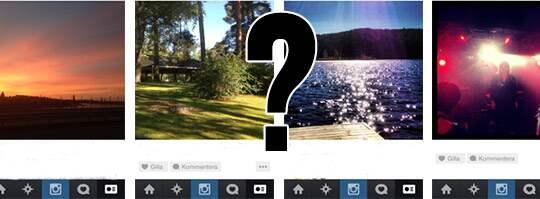 En studie gjord av åtta miljoner Instagrambilder kom fram till att bilder som domineras av blått har en tendens att bli populära.