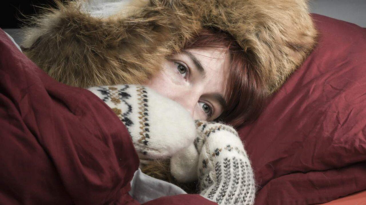 fryser jämt och är trött