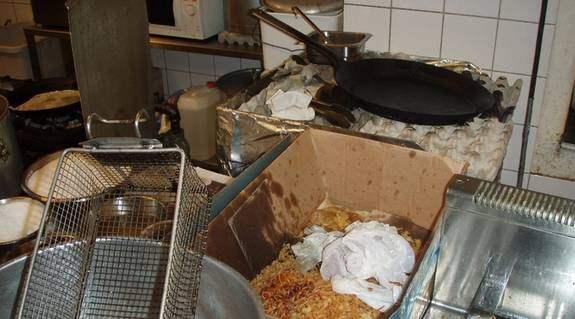Vid oanmäld inspektion den 10 januari fick restaurangen order av miljöförvaltningen om att omedelbart sluta hantera livsmedel. Foto: Miljöförvaltningen
