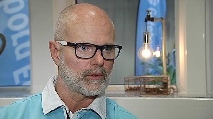 Ulf Berndtsson, facklig ordförande på Vision. Foto: SVT Nyheter Väst