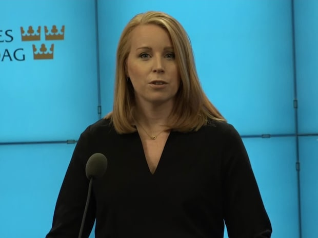 Annie Lööfs svar efter Jimmie Åkessons besked