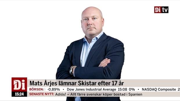 Dagel om att Mats Årjes lämnar Skistar efter 17 år