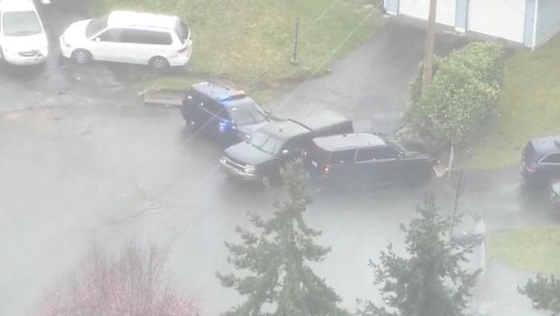 Vild biljakt: Använder polisbilarna som ett flipperspel