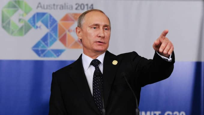 Enligt Viktor Tatarintsev, rysk ambassadör i Stockholm, har Putin påpekat att Ryssland kommer att agera om Sverige går med i Nato. Foto: Mikhail Klimentyev