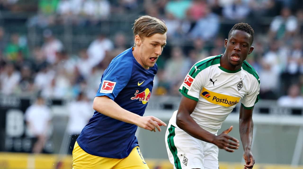 Emil Forsberg låg bakom Leipzigs seger