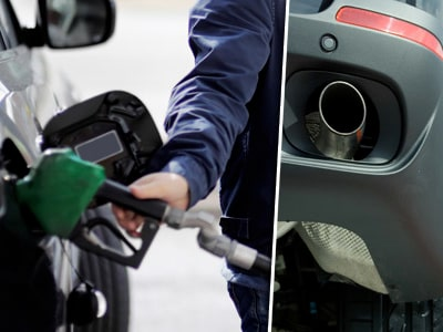 Bonus-malus vill komma åt smutsiga bensin- och dieselbilar.