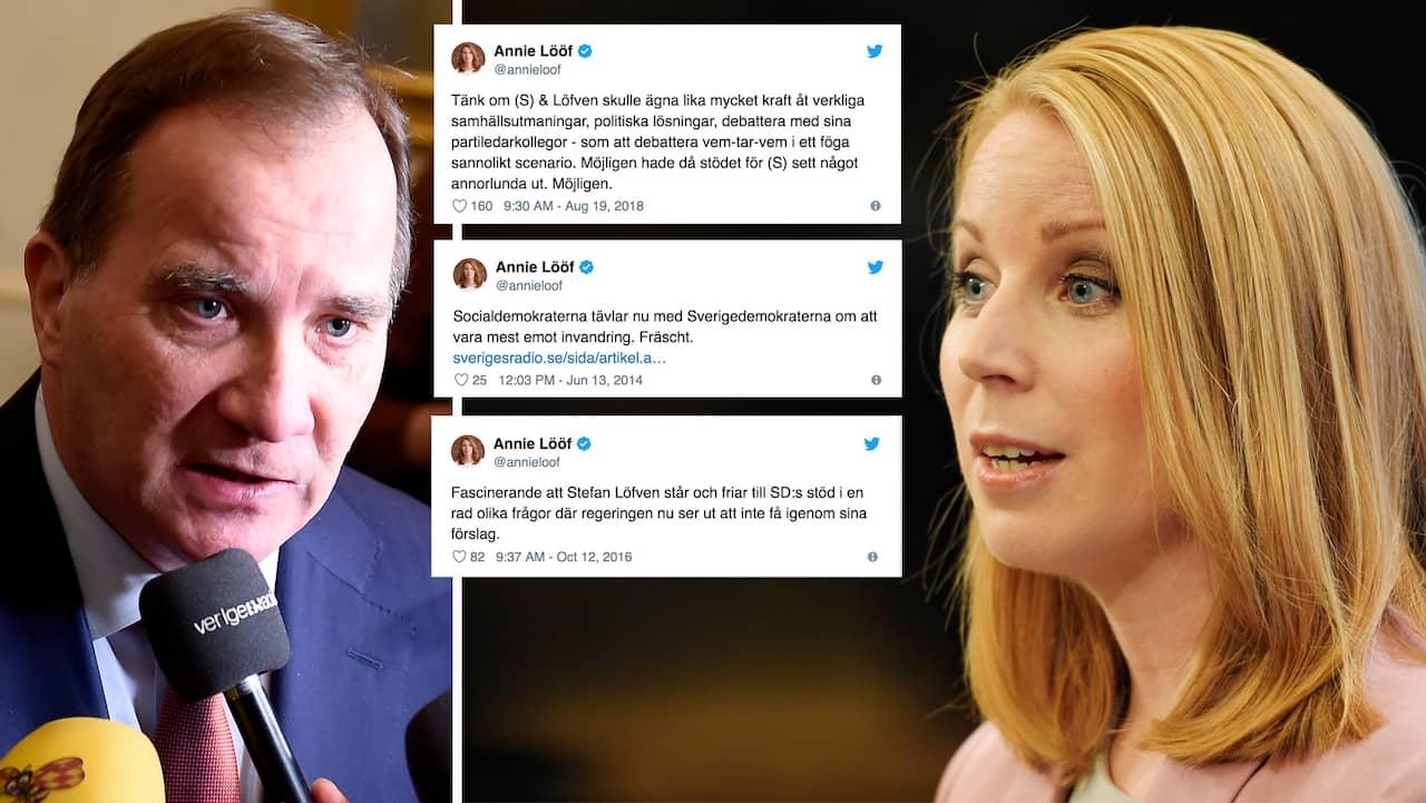 Annie Lööf och Jan Björklund borde låta Stefan Löfven styra