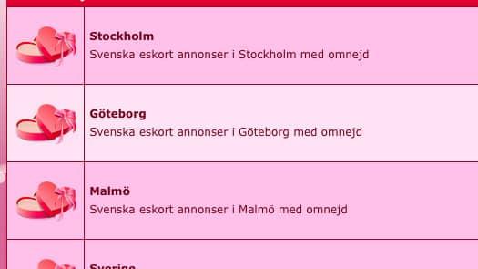sex eskort stockholm malmö eskort