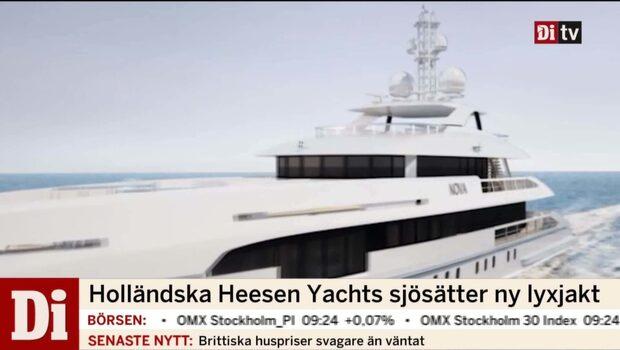Holländska Heesen Yachts sjösätter ny lyxjakt