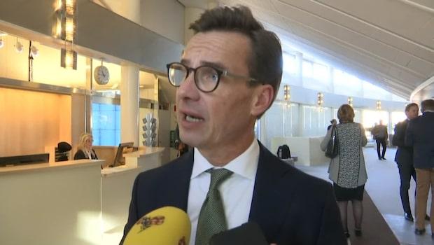 """Kristersson: """"Löfven får inte ens igenom sin egen politik i riksdagen"""""""