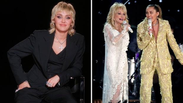 Dolly Partons hårda ord till Miley Cyrus