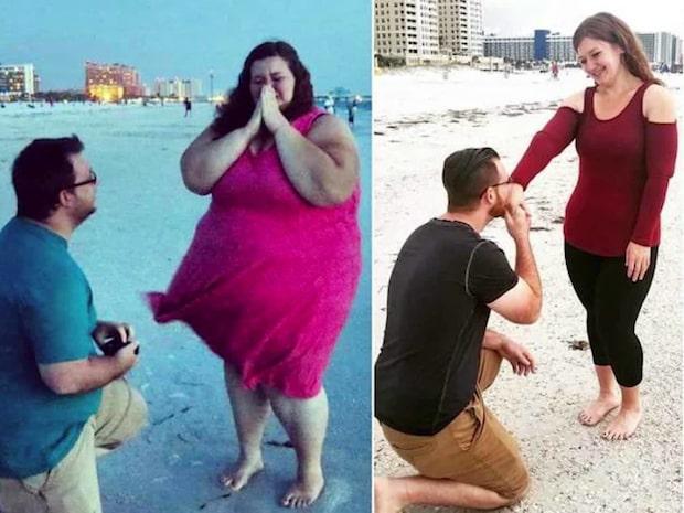Paret har gått ner 180 (!) kilo tillsammans